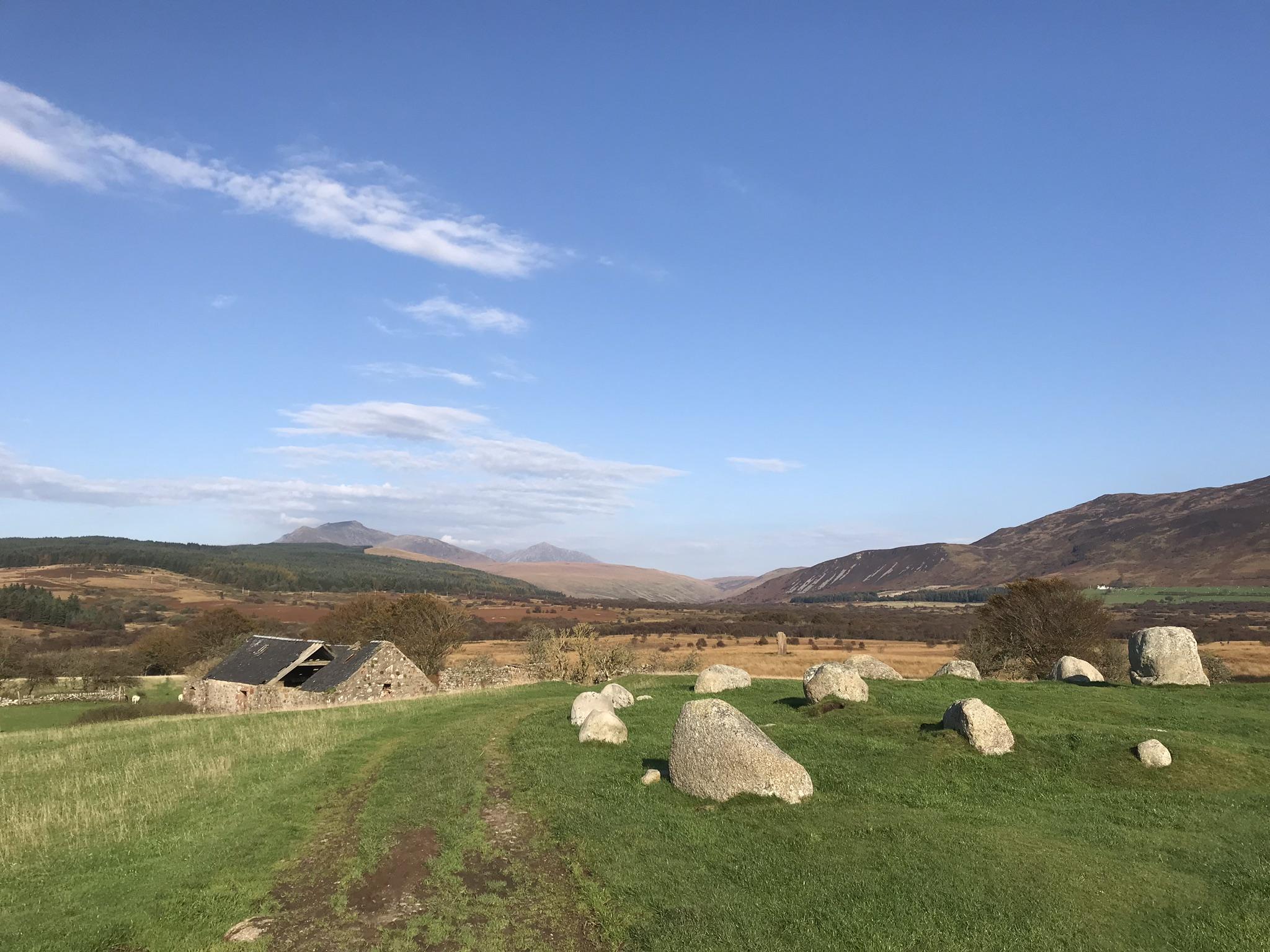 Machrie Moor Stones Ilse of Arran