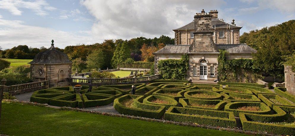 Pollock House Park Glasgow Maze