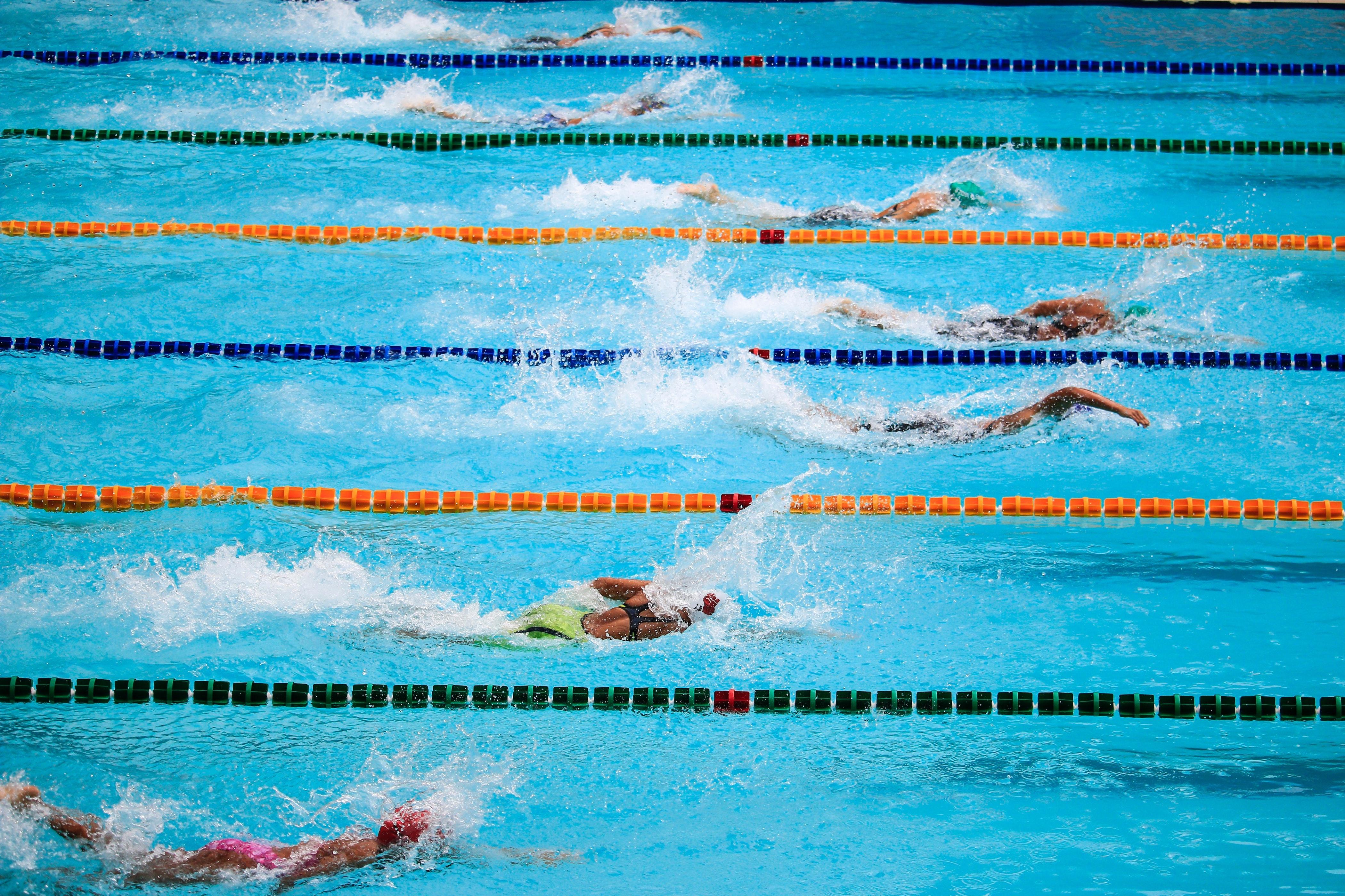 Swimming pool lengths