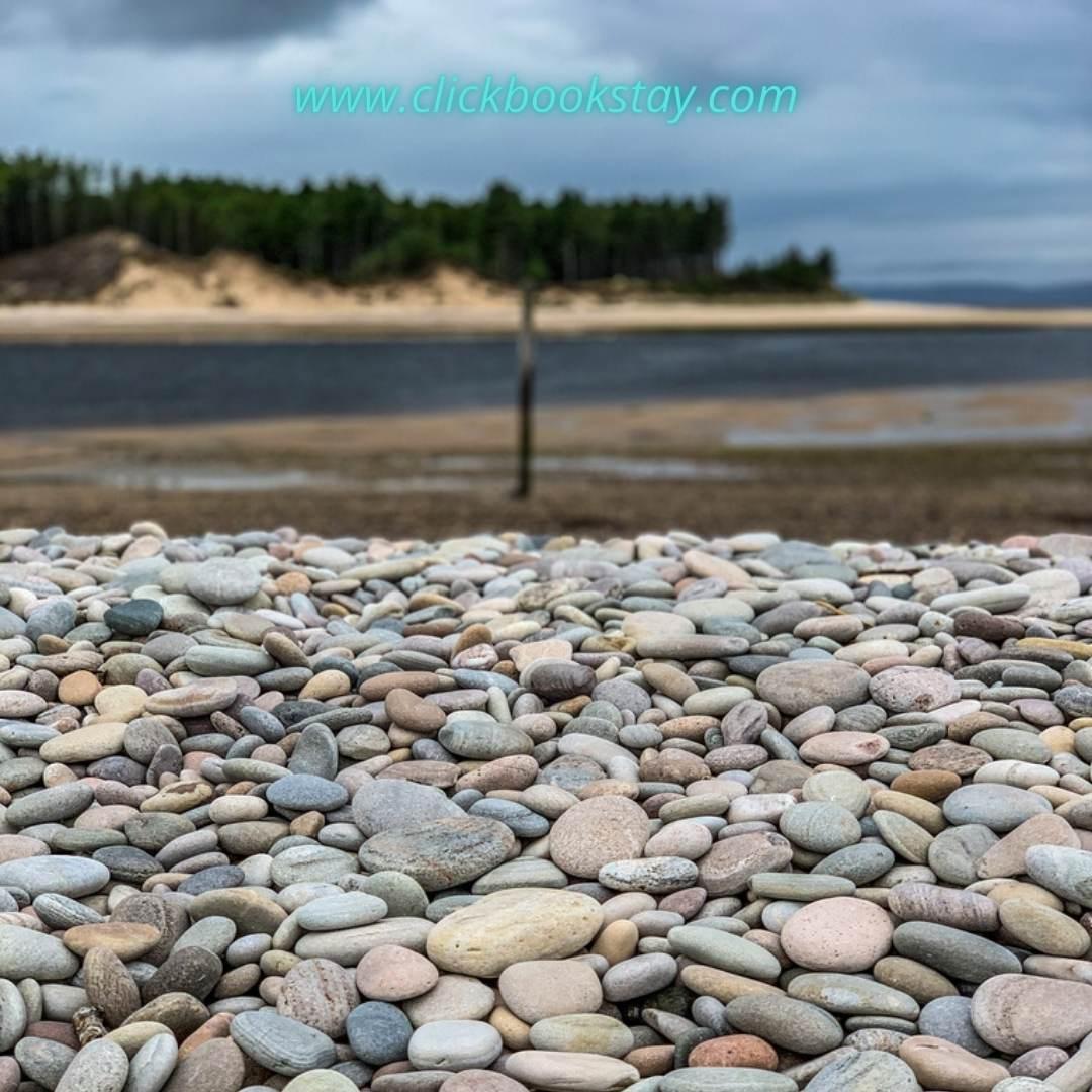 Findhorn Beach Instagram Photograph