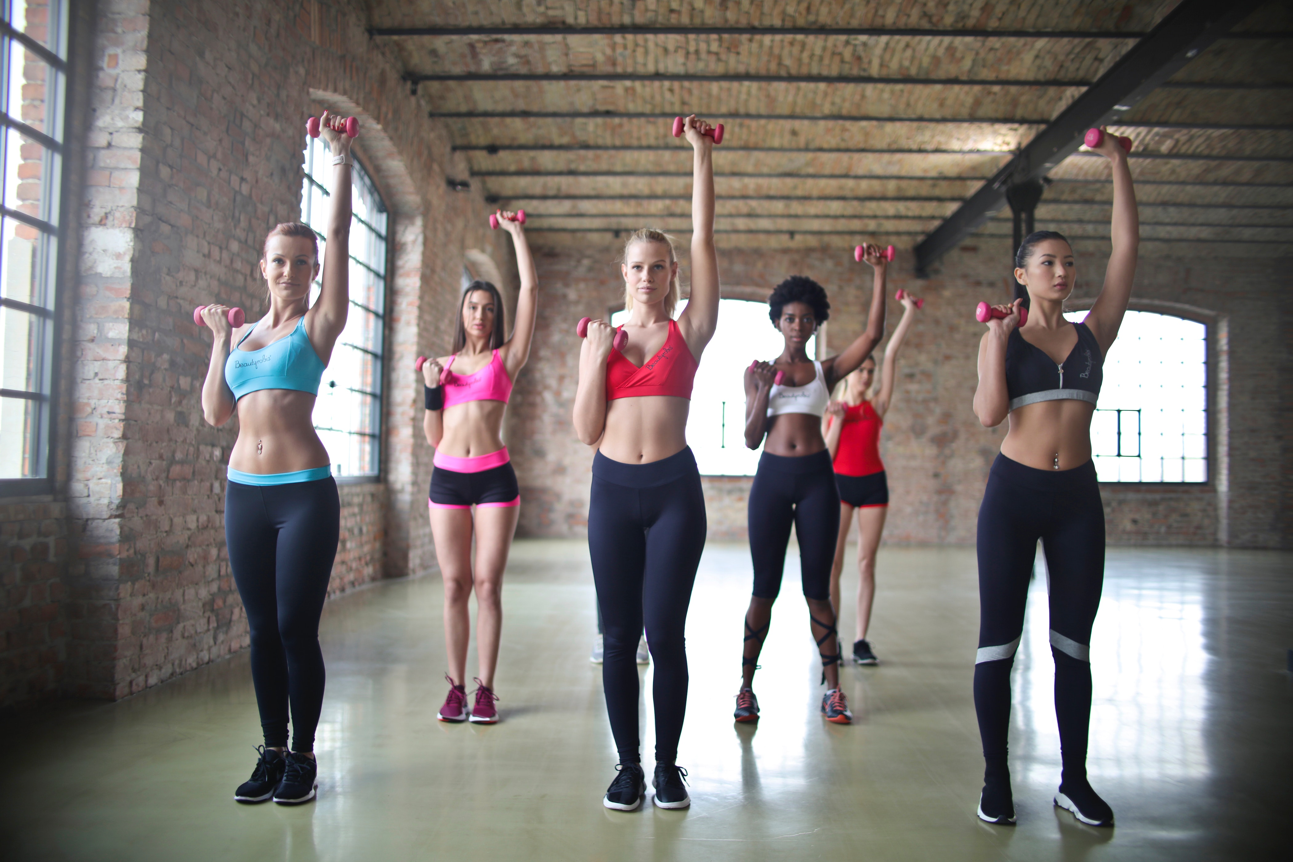 Group exercise motivational class