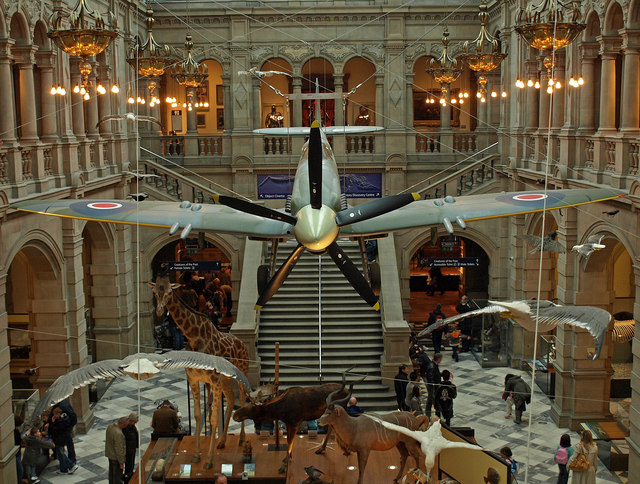 Spitfire at Kelvingrove Museum and Art Gallery