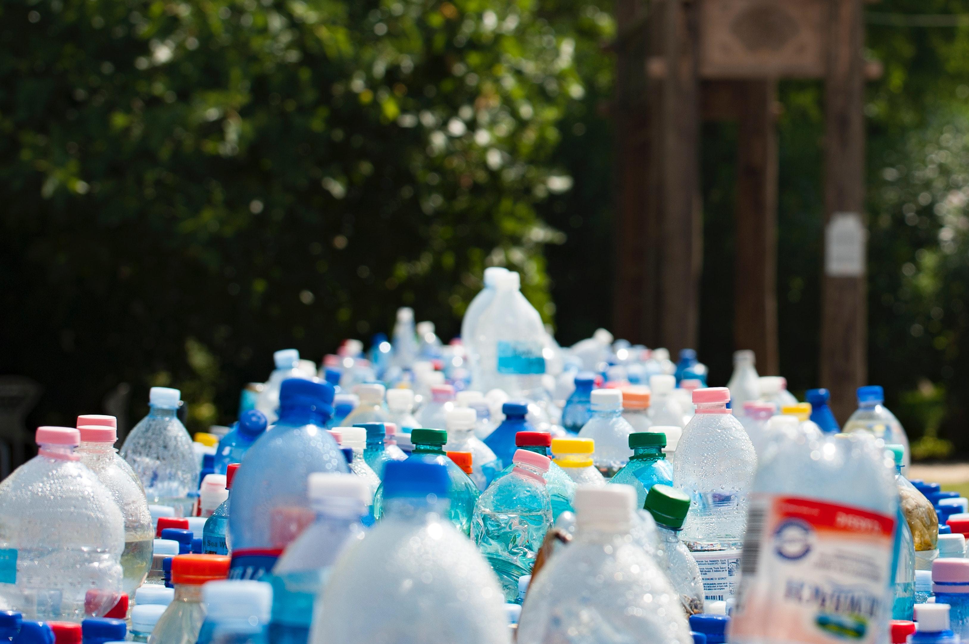 Plastic bottles reduce reuse recylce