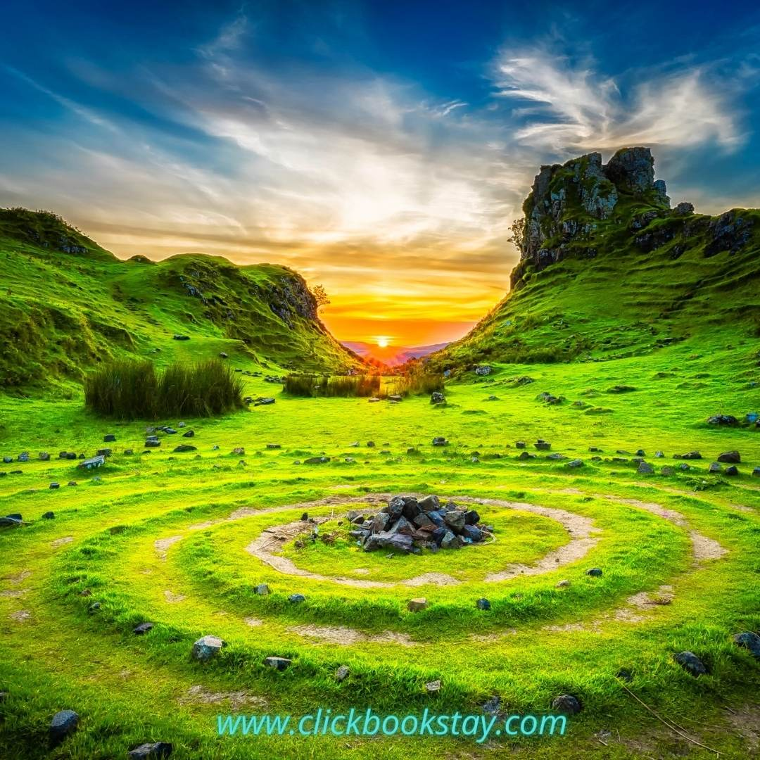Fairy Glen Isle of Skye Instagram Photo