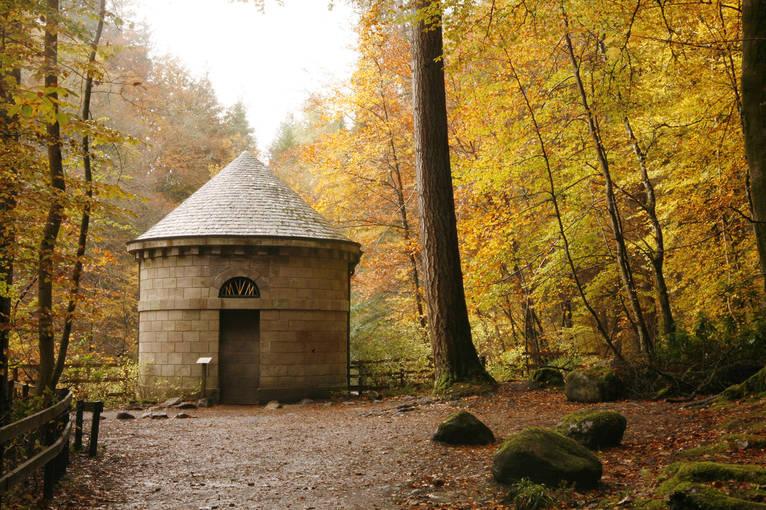 Hermitage Ossian's hall perthshire Dunkeld