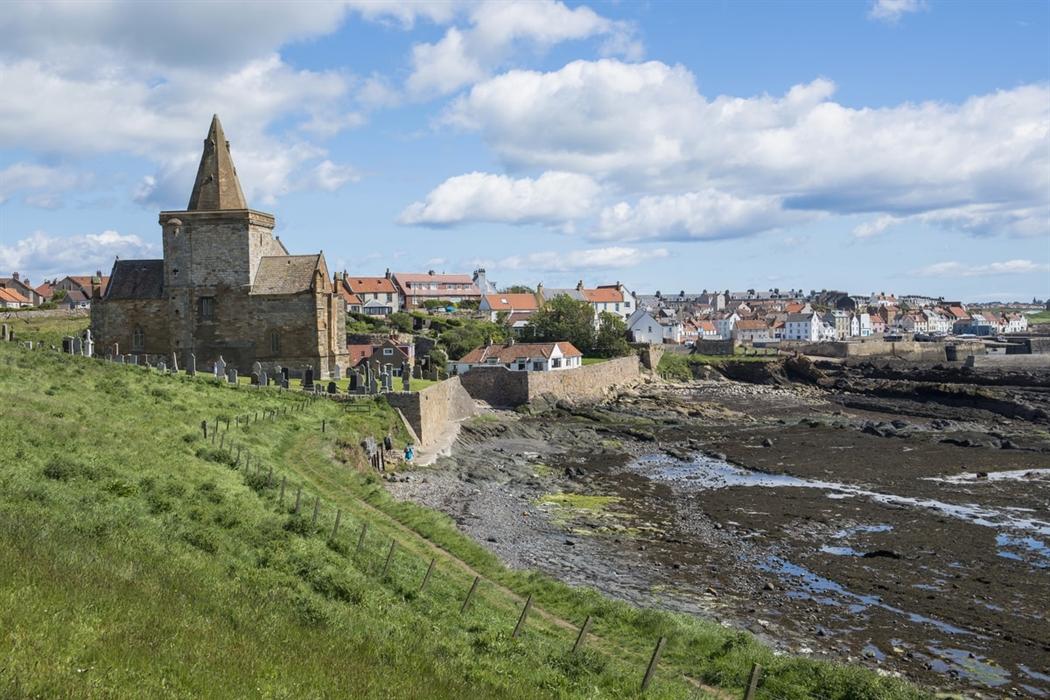 St Monan's Fife Coastal Path