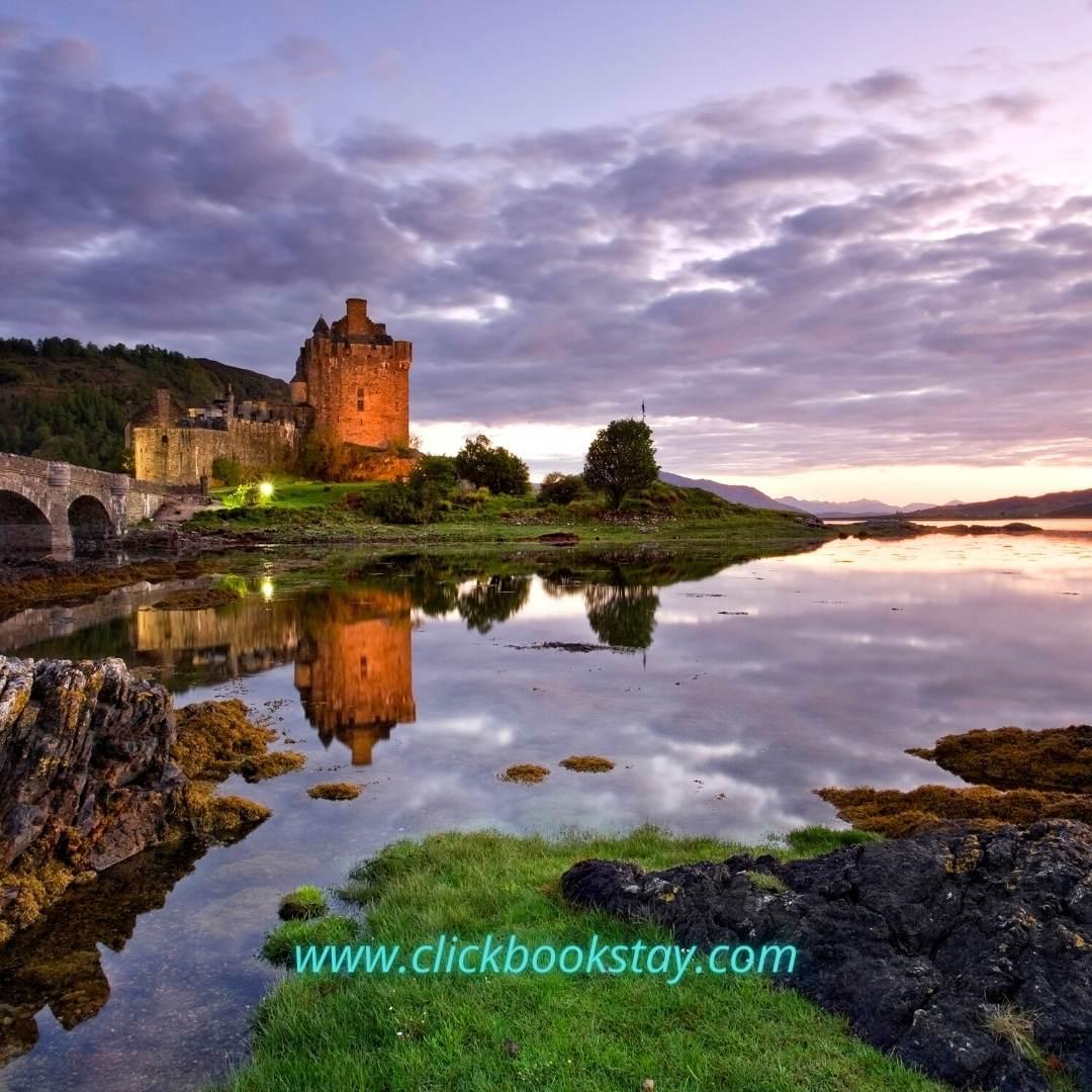 Eilean Donan Castle Instagram Photo