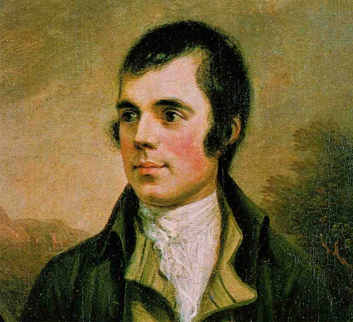 Robert Burns Scottish Poet and Lyricist