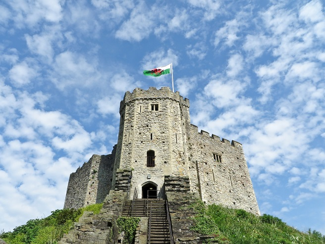 cardiff castle wales vacation ideas
