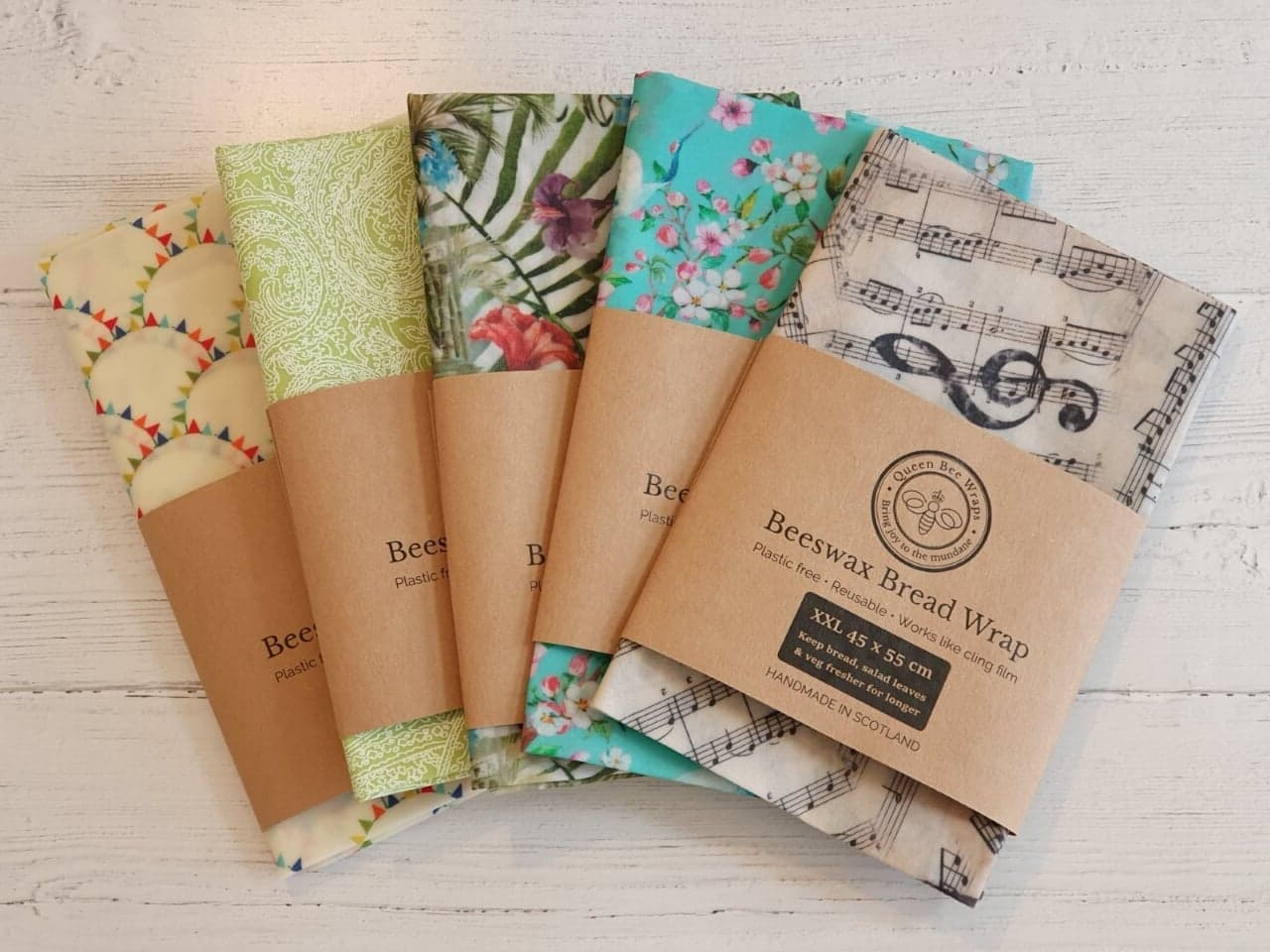 Scottish Beeswax Wraps