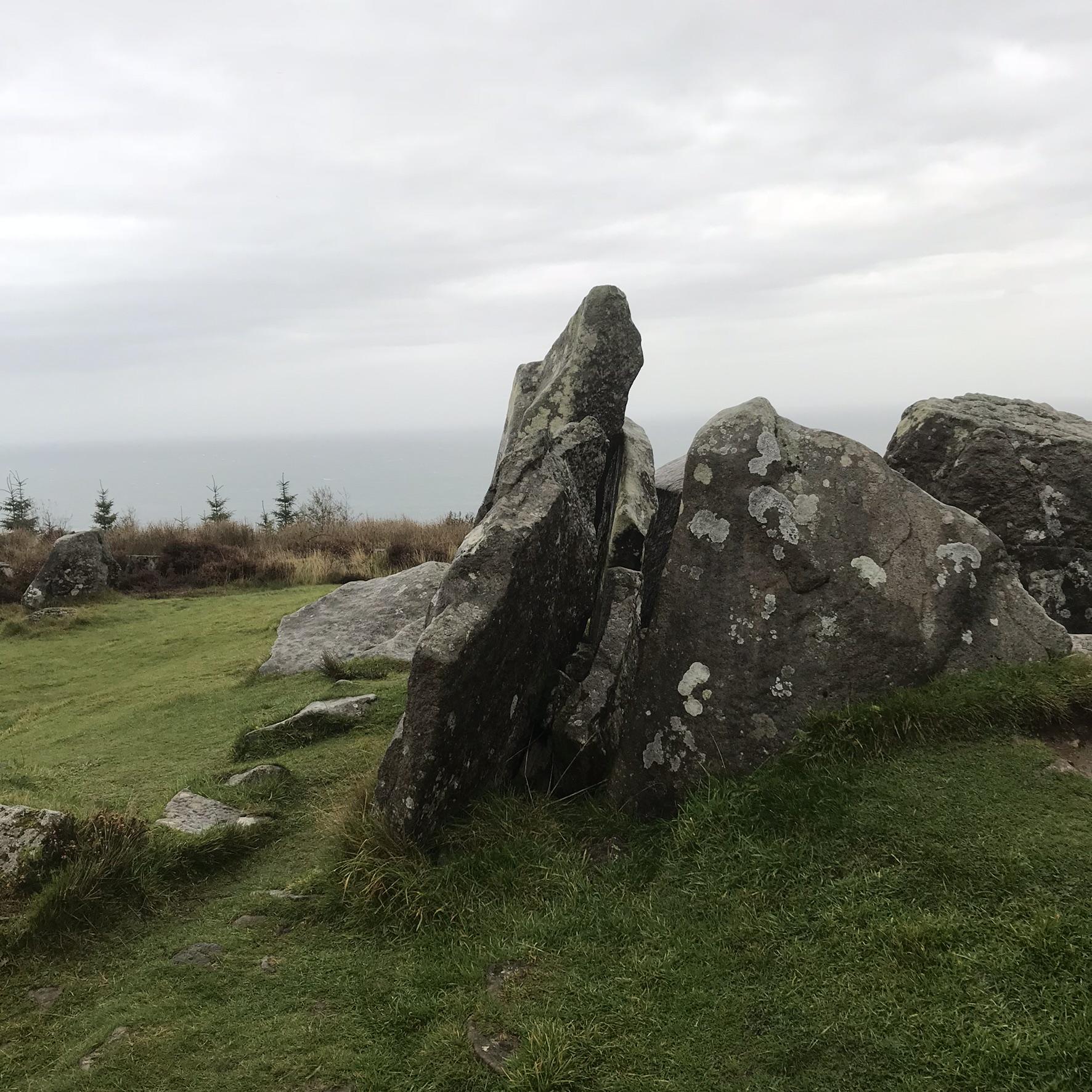 Giants graves Isle of Arran Scotland