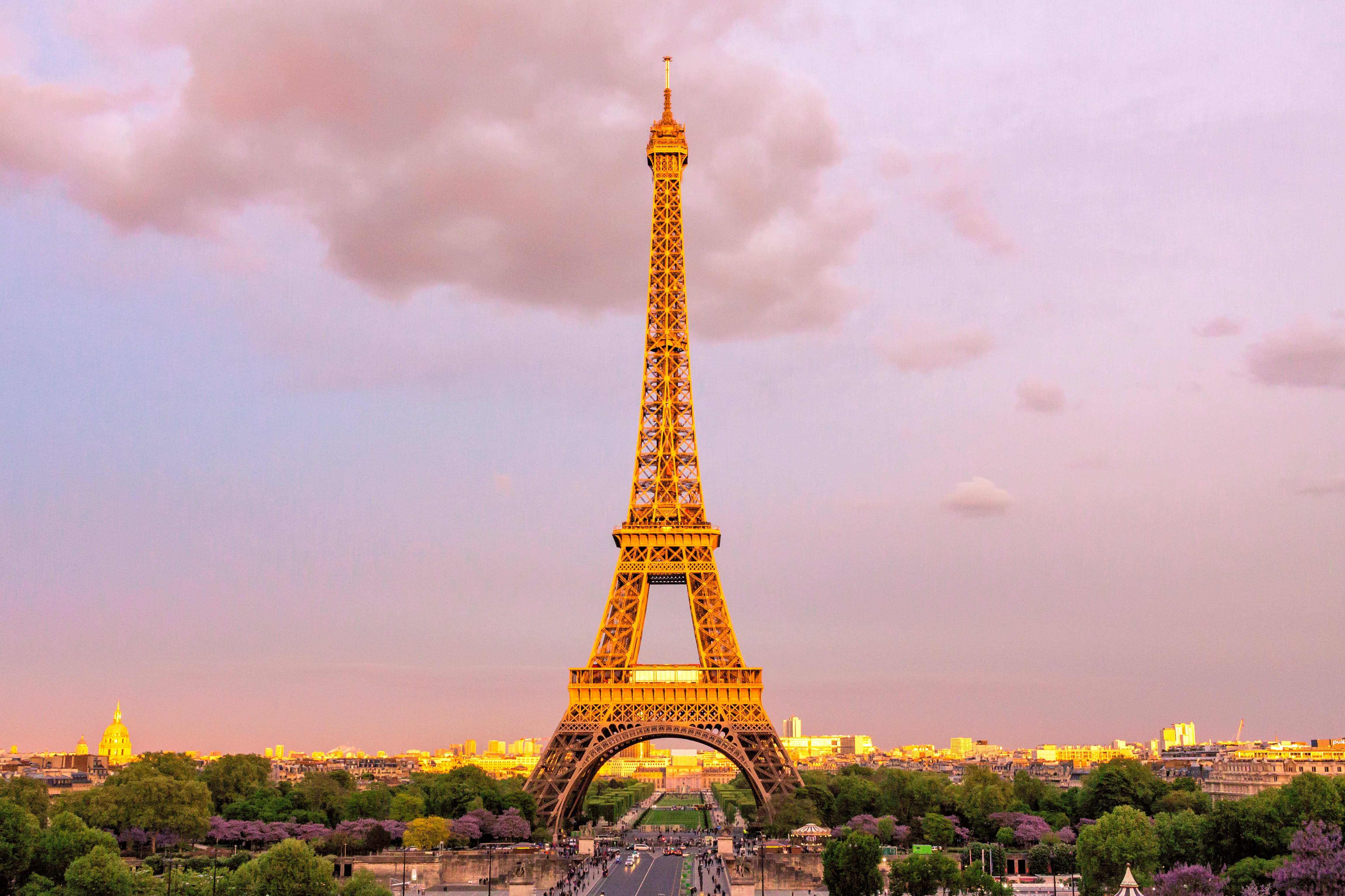 France Eiffel Tower, city of lights and love